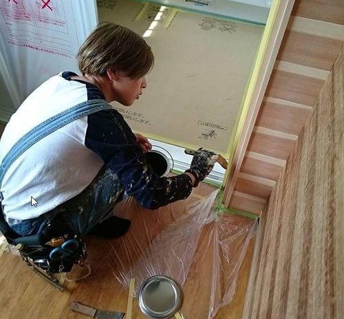 松島塗装店 女性スタッフ活躍